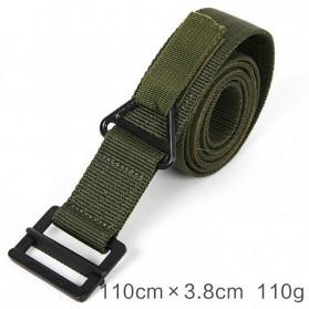 BLACKHAWK Tali Ikat Pinggang Pria Outdoor Military Tactical Belt - 23502 - Khaki - 3
