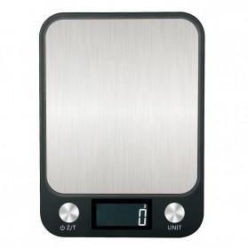 Rollocon Timbangan Dapur Mini Digital 10kg 1g -  TSC01760 - Black