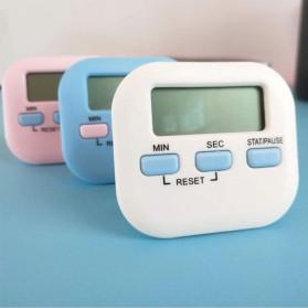 Cucina Timer Masak Dapur Magnetic Stopwatch Alarm Clock - JS-113 - White - 2