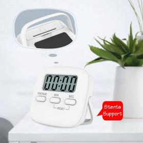 Cucina Timer Masak Dapur Magnetic Stopwatch Alarm Clock - JS-113 - White - 6