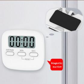 Cucina Timer Masak Dapur Magnetic Stopwatch Alarm Clock - JS-113 - White - 7