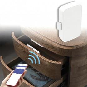 Smart Drawer Kunci Pintu Cabinet Lock Keyless Bluetooth APP Security Drawer - T1 - White - 2