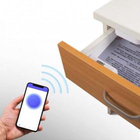 Smart Drawer Kunci Pintu Cabinet Lock Keyless Bluetooth APP Security Drawer - T1 - White - 4