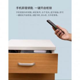Smart Drawer Kunci Pintu Cabinet Lock Keyless Bluetooth APP Security Drawer - T1 - White - 7