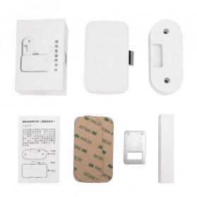 Smart Drawer Kunci Pintu Cabinet Lock Keyless Bluetooth APP Security Drawer - T1 - White - 9