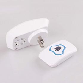 KERUI Bell Pintu Wireless Doorbell Waterproof 38 Tunes 1 Receiver - F52 - White - 3