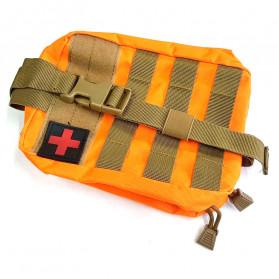 GunDog Tas Perlengkapan Obat P3K First Aid - LG130 - Orange - 3