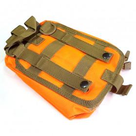 GunDog Tas Perlengkapan Obat P3K First Aid - LG130 - Orange - 4
