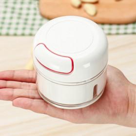 YTK Alat Cincang Daging Mini Powerful Manual Meat Grinder 170ml - CN557 - White