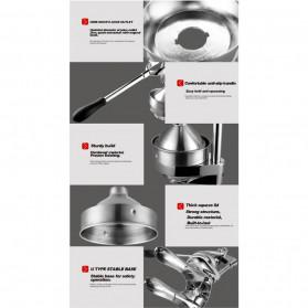 Vortex Alat Peras Jus Buah Juice Squeezer Stainless Steel - ZZJ3 - Silver - 7