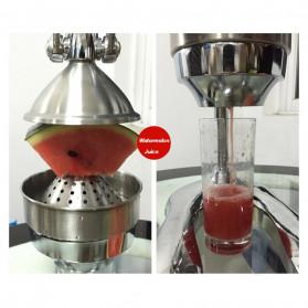Vortex Alat Peras Jus Buah Juice Squeezer Stainless Steel - ZZJ3 - Silver - 8