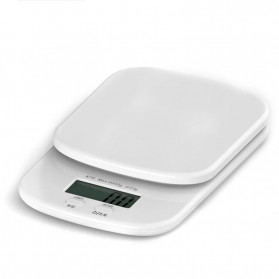 Digipounds Timbangan Dapur Mini Digital Scale 2000g 0.1g - K70a - White - 2