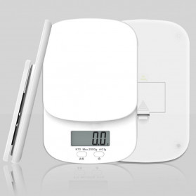 Digipounds Timbangan Dapur Mini Digital Scale 2000g 0.1g - K70a - White - 7