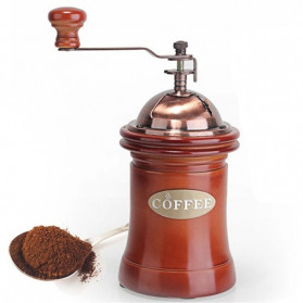 Noble Alat Penggiling Biji Kopi Coffee Bean Grinder - E815 - Brown - 1