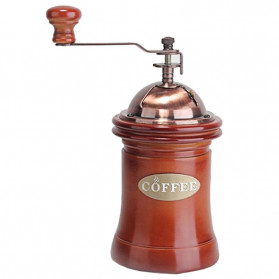 Noble Alat Penggiling Biji Kopi Coffee Bean Grinder - E815 - Brown - 3