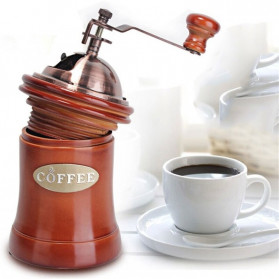 Noble Alat Penggiling Biji Kopi Coffee Bean Grinder - E815 - Brown - 5