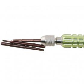 PEGASI Obeng Set 5 in 1 Reparasi Smartphone Maintenance Tools - T-JC501LSD - Multi-Color - 5