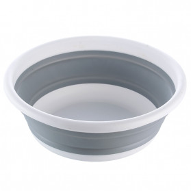 AsyPets Rak Keranjang Buah Lipat Bowl Foldable Collapsible - ST365 - Gray - 2