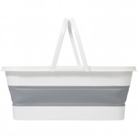 CYAN PEAK Baskom Ember Lipat Water Bucket Foldable Collapsible 10 Liter - ZD036 - Gray - 2