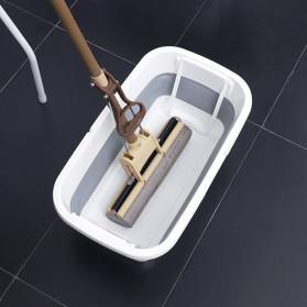 CYAN PEAK Baskom Ember Lipat Water Bucket Foldable Collapsible 10 Liter - ZD036 - Gray - 4