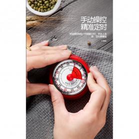 Cucina Countdown Timer Dapur Masak Mechanical Cooking Alarm - T06 - Red - 2