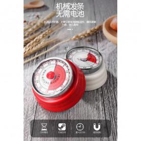 Cucina Countdown Timer Dapur Masak Mechanical Cooking Alarm - T06 - Red - 3