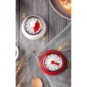 Cucina Countdown Timer Dapur Masak Mechanical Cooking Alarm - T06 - Red - 4