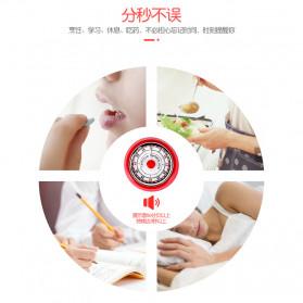 Cucina Countdown Timer Dapur Masak Mechanical Cooking Alarm - T06 - Red - 5