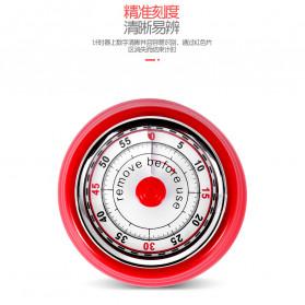 Cucina Countdown Timer Dapur Masak Mechanical Cooking Alarm - T06 - Red - 6