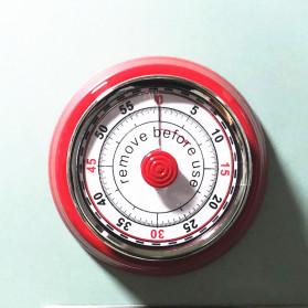Cucina Countdown Timer Dapur Masak Mechanical Cooking Alarm - T06 - Red - 9