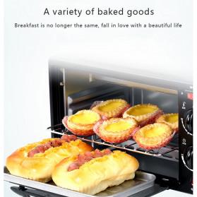 CUKYI Breakfast Machine 3 in 1 Toaster Oven Mesin Kopi Grill Pan 640+450W - FFF1601 - Black - 6