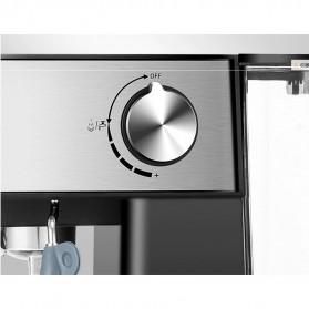 Pink Bunny Mesin Kopi Semi Automatic Espresso Coffe Machine 1.6 Liter - CM6863 - Black - 11