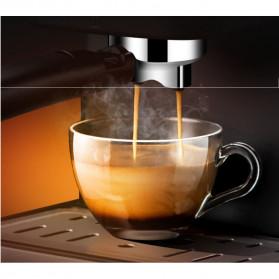Pink Bunny Mesin Kopi Semi Automatic Espresso Coffe Machine 1.6 Liter - CM6863 - Black - 5