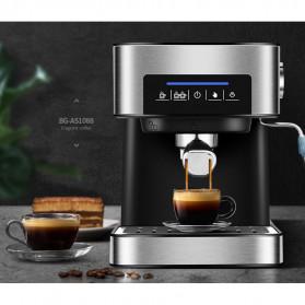 Pink Bunny Mesin Kopi Semi Automatic Espresso Coffe Machine 1.6 Liter - CM6863 - Black - 6