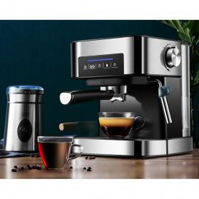 Pink Bunny Mesin Kopi Semi Automatic Espresso Coffe Machine 1.6 Liter - CM6863 - Black - 8