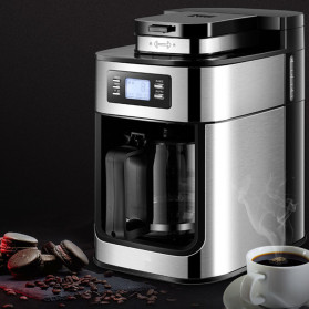 Zzuom Mesin Kopi Semi Automatic Espresso Coffe Machine 1.2 Liter - PB30 - Black