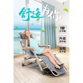 Zero Gravity Kursi Lipat Kerja Folding Picnic Chair - NO7 - Black - 2