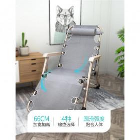 Zero Gravity Kursi Lipat Kerja Folding Picnic Chair - NO7 - Black - 3