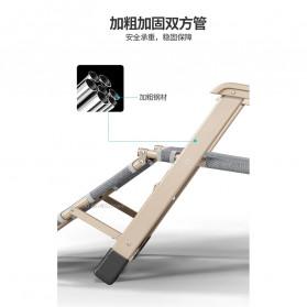 Zero Gravity Kursi Lipat Kerja Folding Picnic Chair - NO7 - Black - 6
