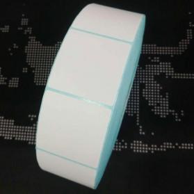 Ricoh Kertas Barcode Thermal 5 x 5 cm Tube Diameter 40mm 3500 Sticker per Roll
