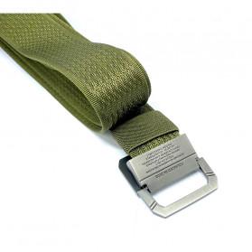 Rhodey Tali Ikat Pinggang Army Canvas 125cm - B1030 - Green - 2