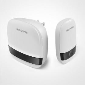 Boying Bell Pintu Digital Wireless Doorbell Touch Music Long Distance - B815 - White - 4