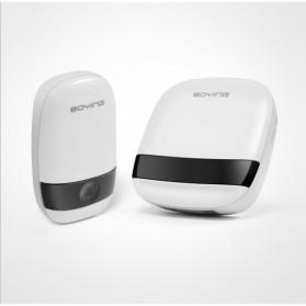 Boying Bell Pintu Digital Wireless Doorbell Touch Music Long Distance - B815 - White - 5