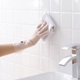 LULUHUT Sarung Tangan Karet Cuci Piring Dishwasher Cleaning Gloves S -  ST0001 - White - 5
