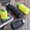 VOZRO Botol Minum Lipat Portable Folding Bottle 550ml - SH-06 - Black