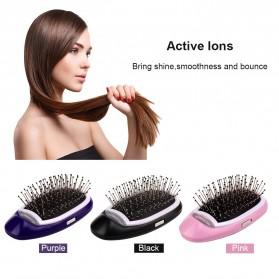 OSHIONER Sisir Rambut Anti Rontok Ionic Magic Hair Comb Brush - Y74 - Pink