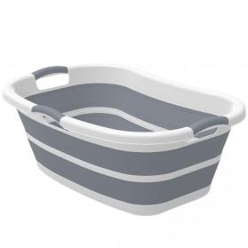 XINYU Baskom Ember Lipat Laundry Water Bucket Foldable Collapsible - ZD037 - Gray - 3