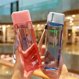 Swadicup Botol Minum Plastik Tabung Transparan 500ml - SWT500 - Black - 4