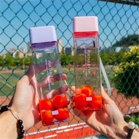 Swadicup Botol Minum Plastik Tabung Transparan 500ml - SWT500 - Black - 5