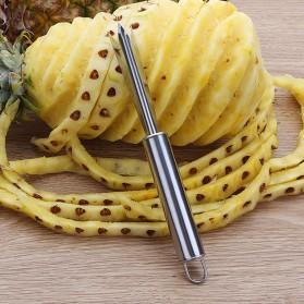 KNIFEZER Garpu Pengupas Nanas Pineapple Peeler - WYV736 - Silver - 4